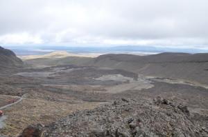 """""""Mondlandschaft"""" zu Beginn des Tongariro Alpine Crossings"""