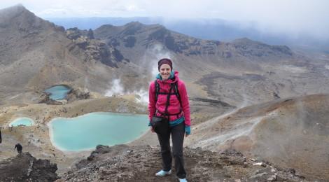 Endlich geschafft - bei den Vulkanseen