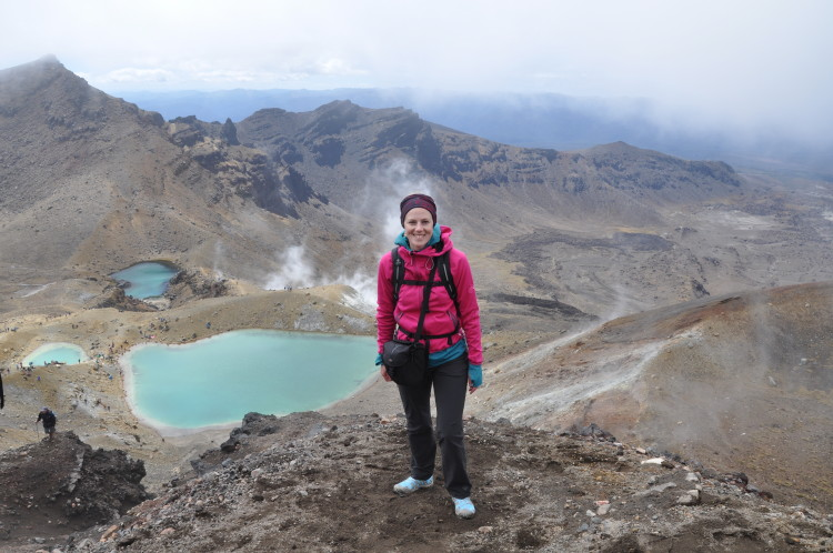 Neuseeland Reise Highlight: Tongariro Alpine Crossing - bei den Vulkanseen