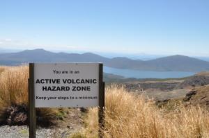 Willkommen in der Vulkan-Gefahrenzone