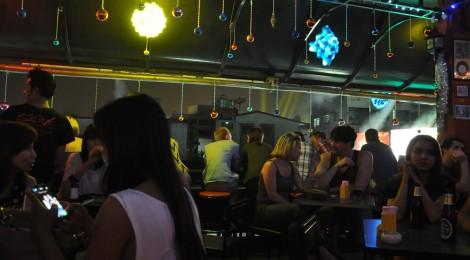 Silvester in der Roof Bar in Bangkok