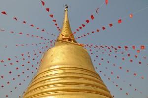 Tempel auf dem Golden Mount, Bangkok