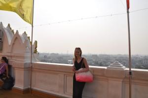 Blick vom Golden Mount, Bangkok
