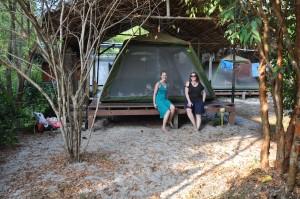 Zelt auf Koh Phayam