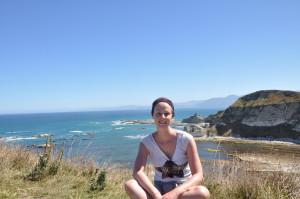 Wanderung an Kaikouras Küste