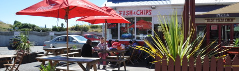 Fish & Chips in Neuseeland