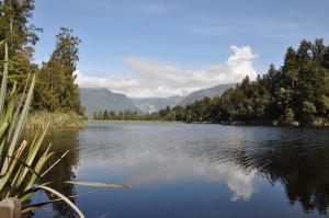 Lake Matheson (ohne Mount Cook)
