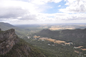 Ausblick vom Pinnacle im Grampians National Park
