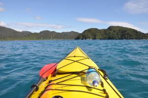 Drei Tage unterwegs mit dem Kayak