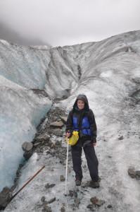 Auf dem Fox Glacier