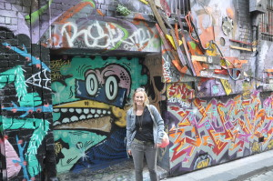 Melbourne: Viele, viele Graffitis in der Hoisier Lane