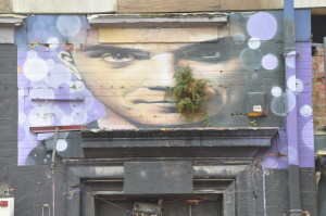 Street Art Christchurch: Robbie Williams