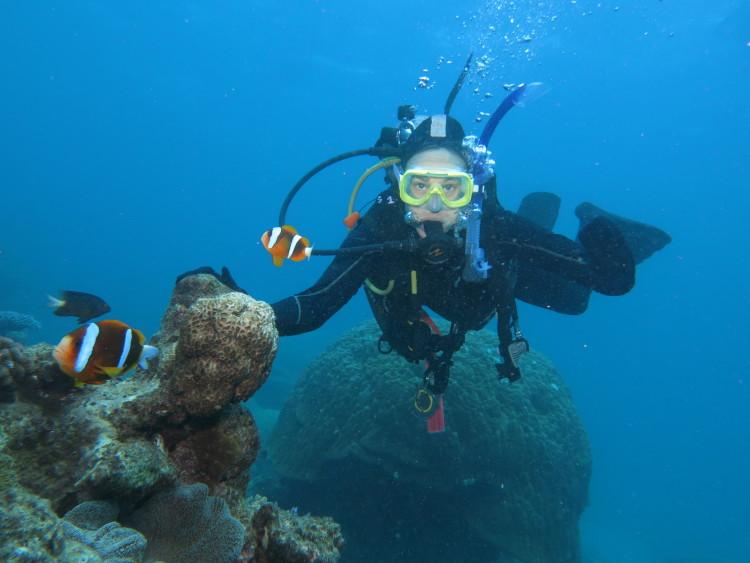 Simone findet Nemo auf der Australien Reise