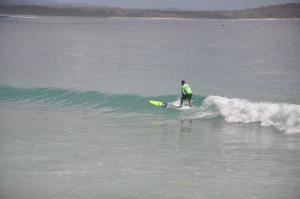 Surffestival Noosa: So surfen Profis