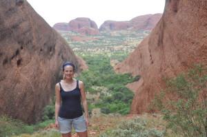 Weiter geht das Outback Abenteuer: Kata Tjuta Wanderung