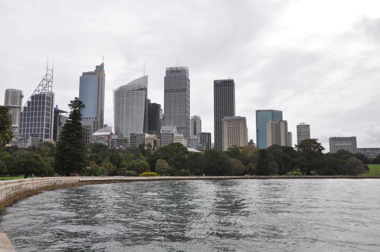 City View vom Botanischen Garten