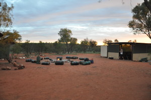 Outback Campsite bei Kings Creek Station