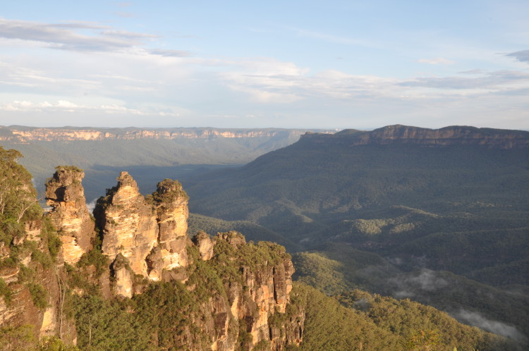 Höhepunkt auf dem Roadtrip: Three Sisters, Blue Mountains