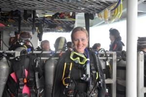 Tauchen Great Barrier Reef: Vorbereitung auf den Tauchgang