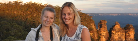 Mit Lina unterwegs in den Blue Mountains