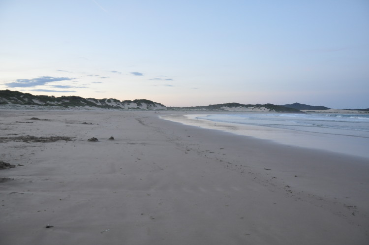 Roadtrip, vorlezter Stopp: One Mile Beach, Port Stephens