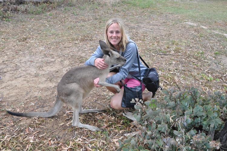 Im Känguru Sanctuary