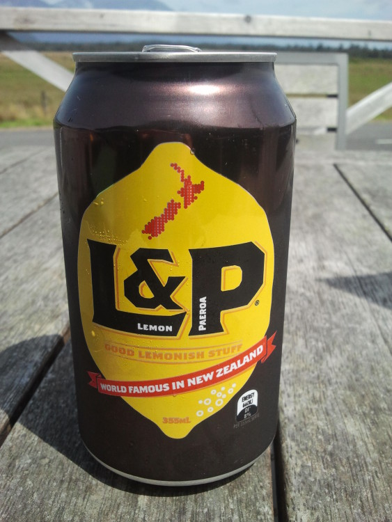 L&P - World Famous in New Zealand