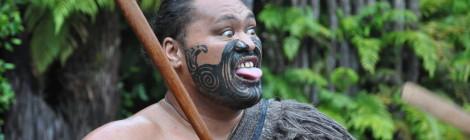 Maori Vorführung in Rotorua