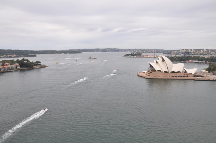 Sydney Harbour mit Opera House