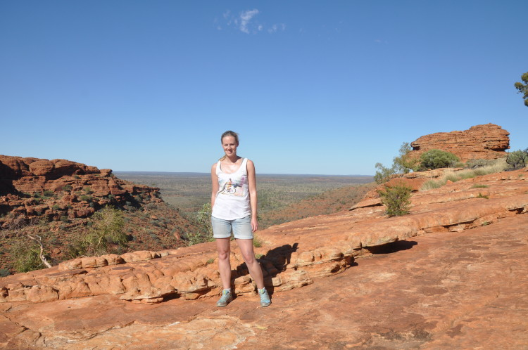 Outback in Australien: Kings Canyon Wanderung