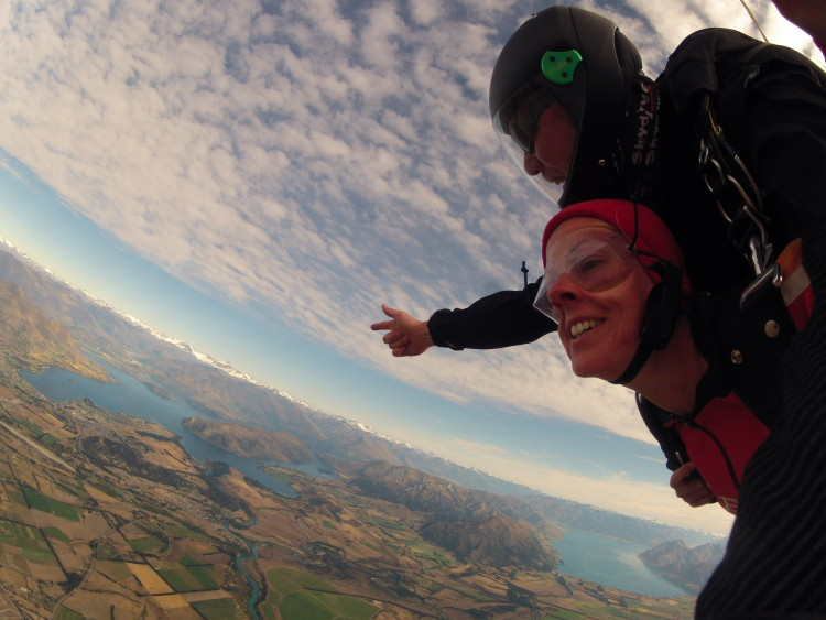 Neuseeland Reise Highlight Nr. 3: Skydive in Wanaka
