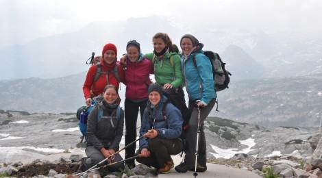 Tag 3, Wanderung Steinernes Meer: Wieder gut gelaunt bei gutem Wetter