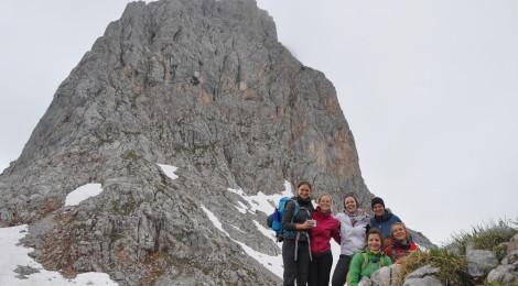 Wanderung Steinernes Meer: Der letzte große Aufstieg geschafft