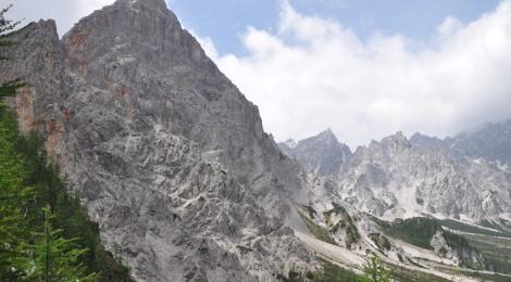 Wanderung Steinernes Meer: Wunderschöne Berge
