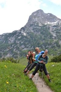 Die steinernen Bergziegen im Steinernen Meer