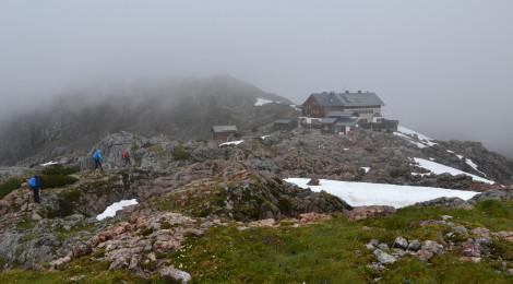 Wanderung Steinernes Meer, Ziel der 2. Etappe: Ingolstädter Haus