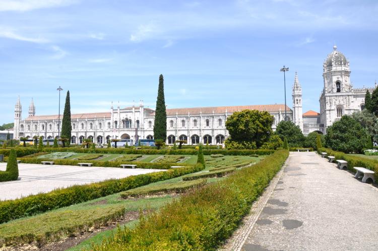 Mosteiro dos Jerónimos in Belém, Lissabon