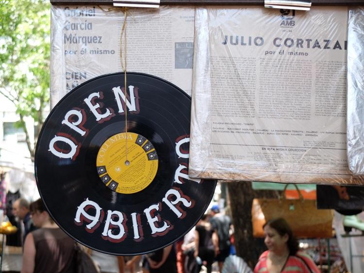 Marktstände in San Telme