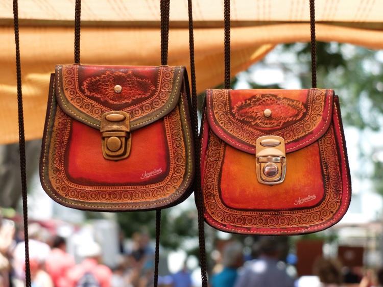 Handtaschen, Markt San Telmo
