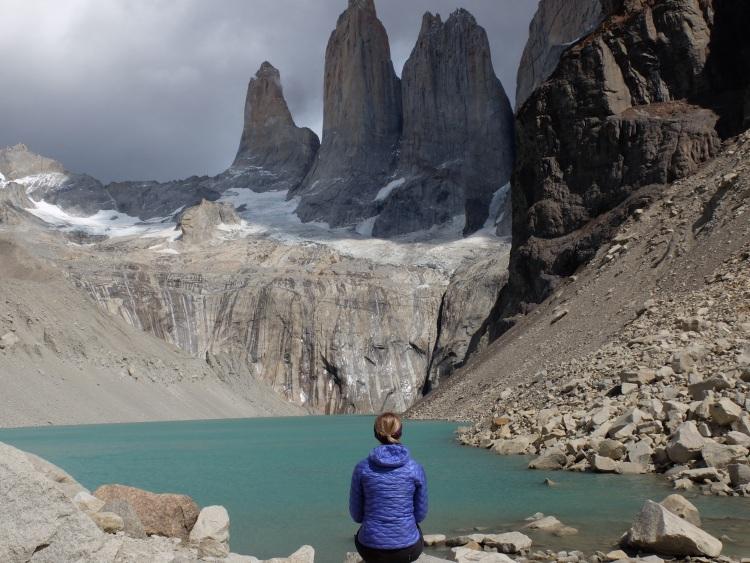 Wunderschön: Mirador Base Torres mit Lagune