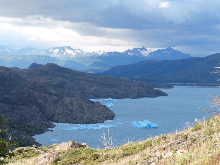Wanderung zum Glaciar Grey