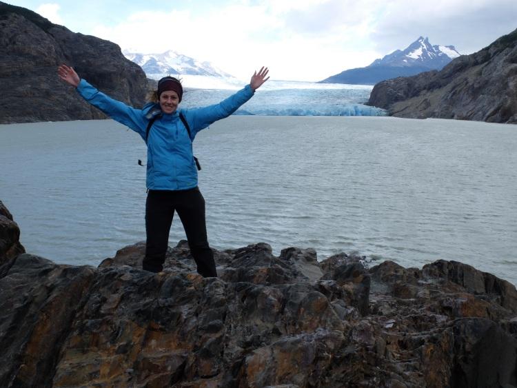 Endlich am Gletscher angekommen