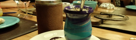 Dessert: Alfajores und Mate