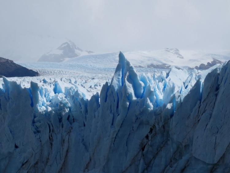 Gletscher, Eis, Blautöne