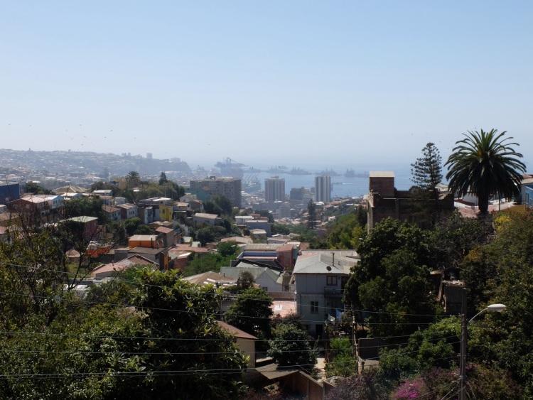 Mit diesem Ausblick auf Valparaíso möchte man auch wohnen