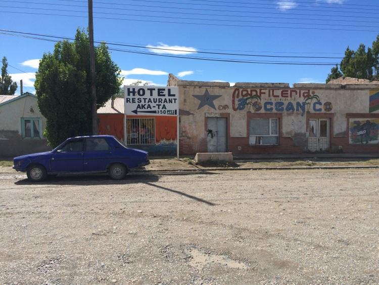 Kleines Dorf an der Ruta 40 in Argentinien