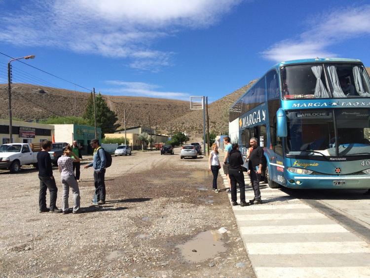 Pause irgendwo in Patagonien