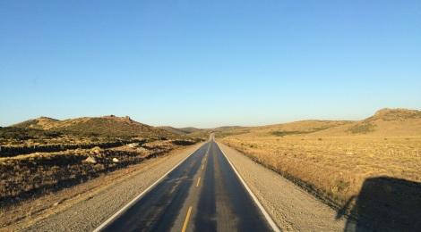 Strecken in Südamerika sind lang...