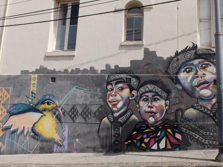 Street Art ist in Valparaíso allgegenwärtig