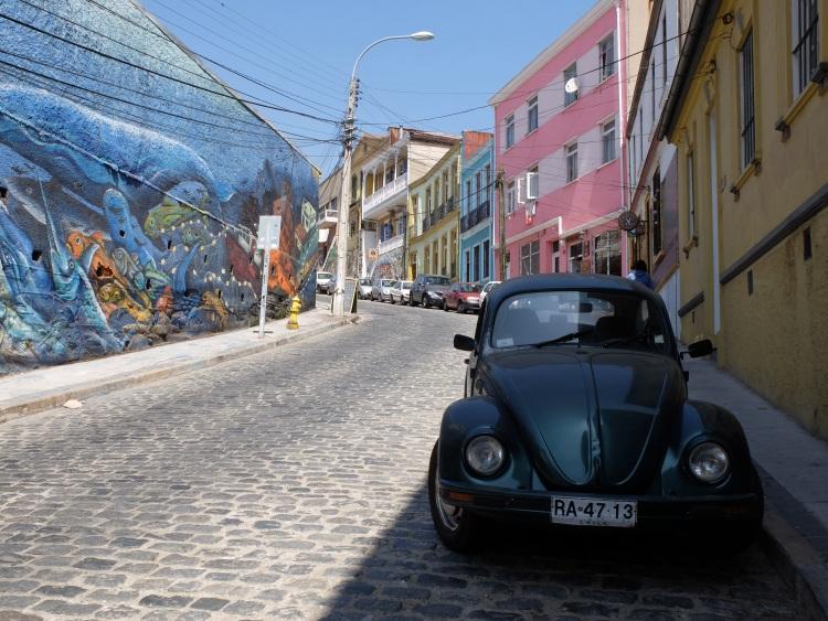 Hin und wieder findet man auch schöne, alte Autos